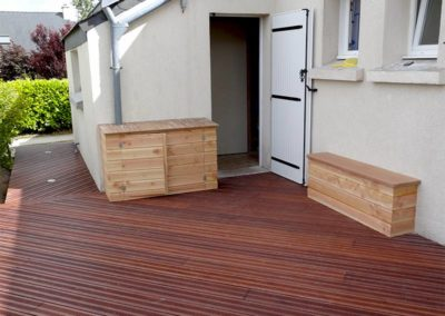 Terrasse : NORMANT AGENCEMENT
