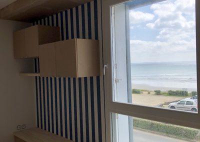 Normant Agencement : Finistère 29 : MENUISERIE INTÉRIEURE / agencement de salon/STORE